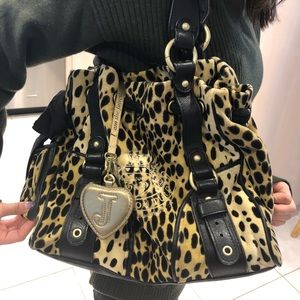 JUICY COUTURE LEOPARD TOTE
